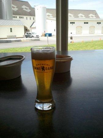 Landmark Inn: Ommegang tasting