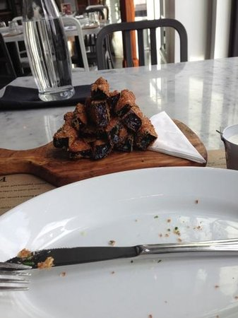 Borgo: greasy eggplant