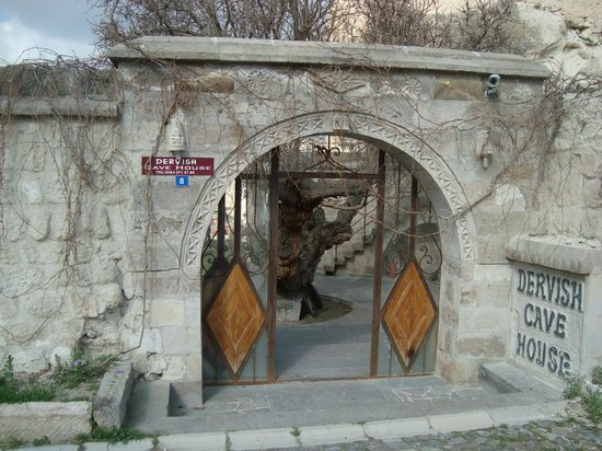 Dervish Cave House: entrada