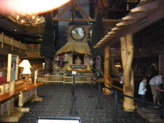 Great Wolf Lodge: main lobby
