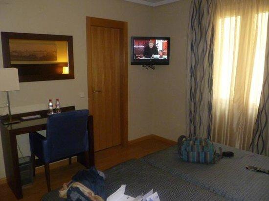 Ganivet Hotel: Room