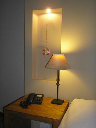 Villa Mansa Wine Hotel & Spa: Rincón de la habitación