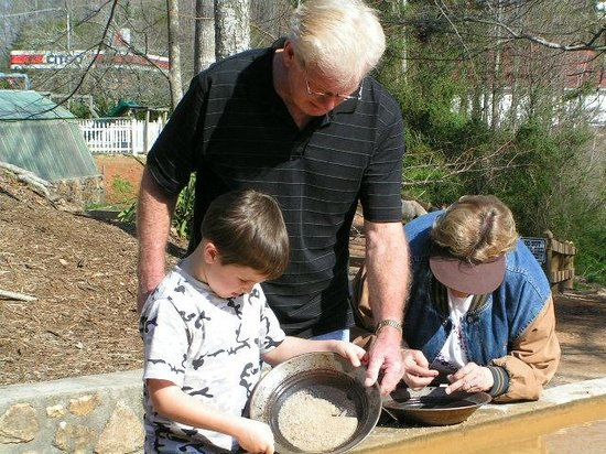 Dahlonega, GA: Families of all ages can pan for Gold!!!