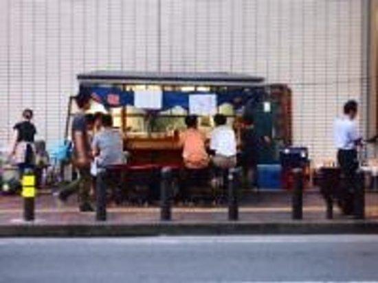 Hotel Monterey Lasoeur Fukuoka: ホテル目の前