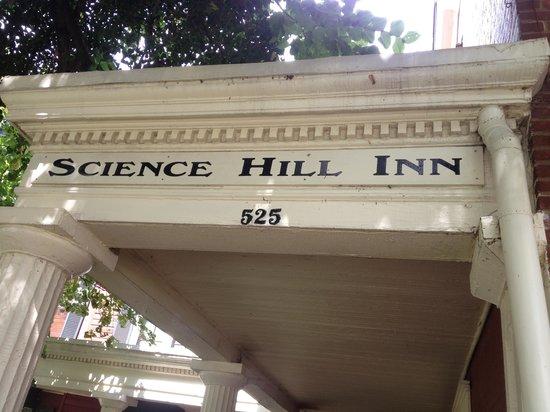 Science Hill Inn Dining Room: Entryway