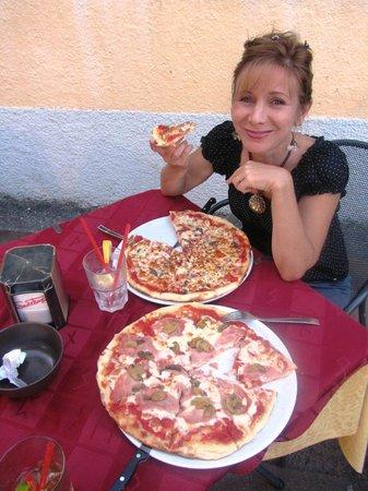 L'Orso Bar Hostaria: Great pizzas