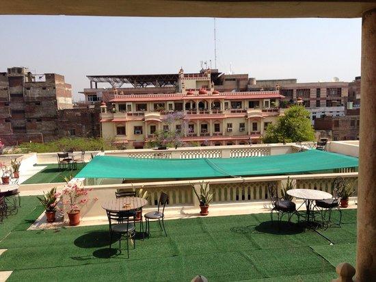 Arya Niwas: Rooftop view