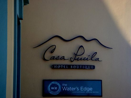 Water's Edge Bistro: Our front