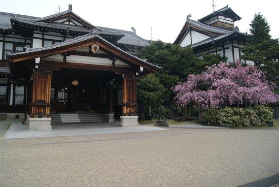 Nara hotel front entrance