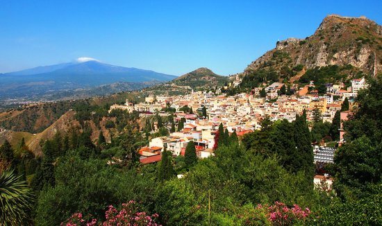 Hotel Residence Circe: Taormina with Etna