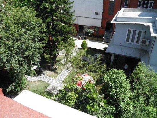 Hotel Blue Horizon: Garden View
