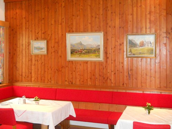 Hotel Gablerhof: Зал для завтраков