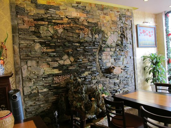 Anh Hoa restaurant: Entrance to Restaurant