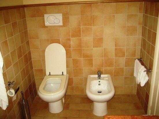 Le Stanze di Carlotta: Stanza Carlotta: bagno (sanitari)