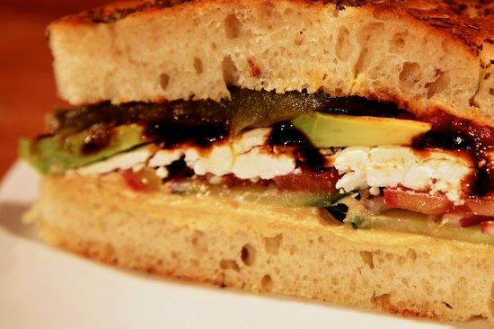 Bushfire Grill: Veggie Sandwich