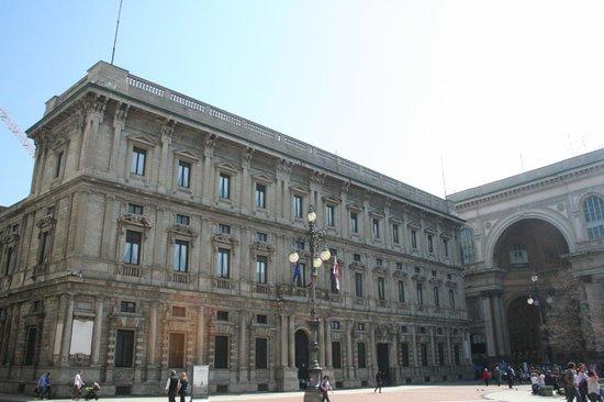 Palazzo Marino: facciata