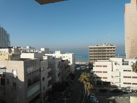 Hotel Prima City, Tel Aviv: Вид с балкона