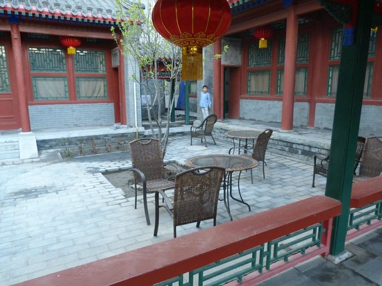 Jingyuan Courtyard Hotel: back courtyard