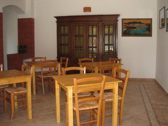 B & B Villa Li Cuponi: sala colazioni