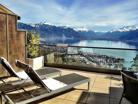 Le Mirador Resort & Spa: view from junior suite
