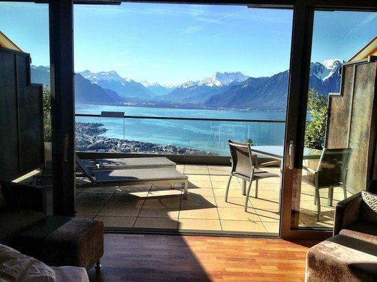 Le Mirador Resort & Spa: junior suite terrace