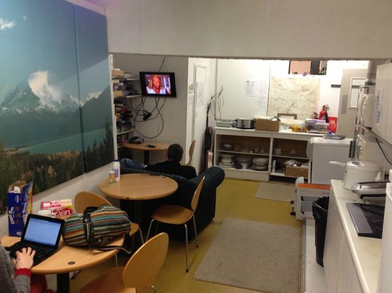 Glastonbury Backpackers: Residents Kitchen