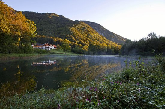 Hotel Gablerhof: herbstliche Stimmung