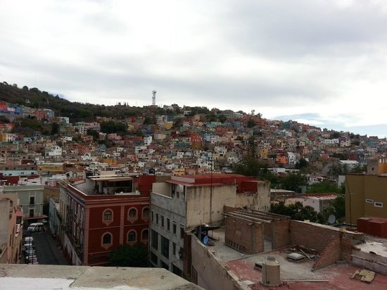 Hotel Real Guanajuato: View from the terrace