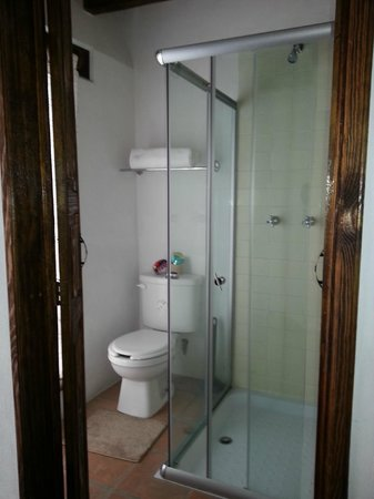 Hotel Real Guanajuato: Compact bathroom