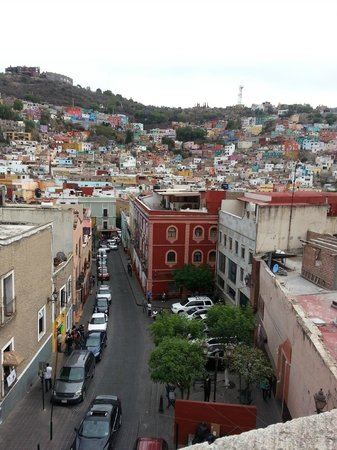 Hotel Real Guanajuato: View from terrace