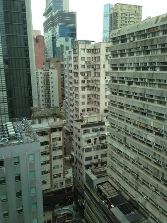 Park Hotel Hong Kong: Not much view at this location