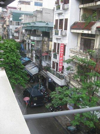 Hanoi Symphony Hotel: view from balcony