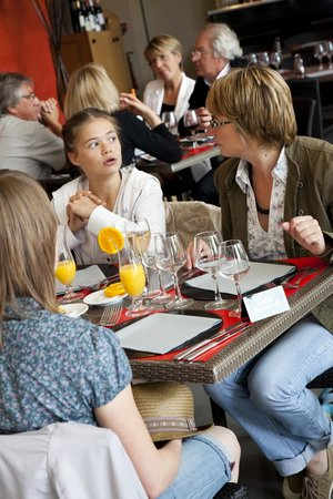 Ile MoulinSart : Des déjeuners gourmands