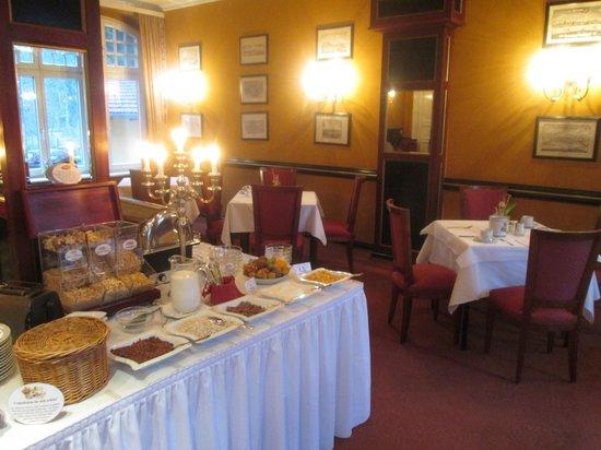 Hotel-Restaurant Kronprinz: petit déjeuner