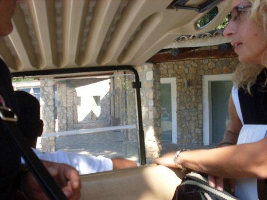 Aquapetra Resort & Spa: accoglienza con macchina elettrica
