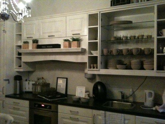 Ellingsens Pensjonat: Kitchen