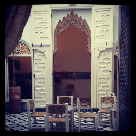 Riad Senso : Le patio