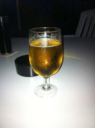 H.TOP Royal Sun: not plastic glass at nite