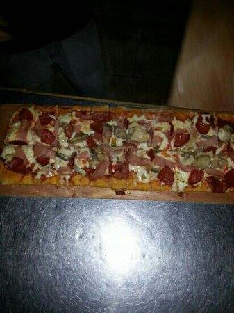 Pizza Pata: esto si es pizza !!!!