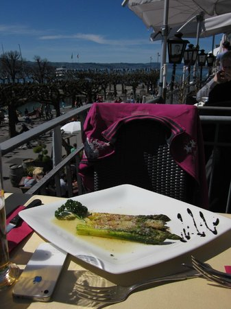 San Marco Rapperswil: Asparagus, CHF 19.50