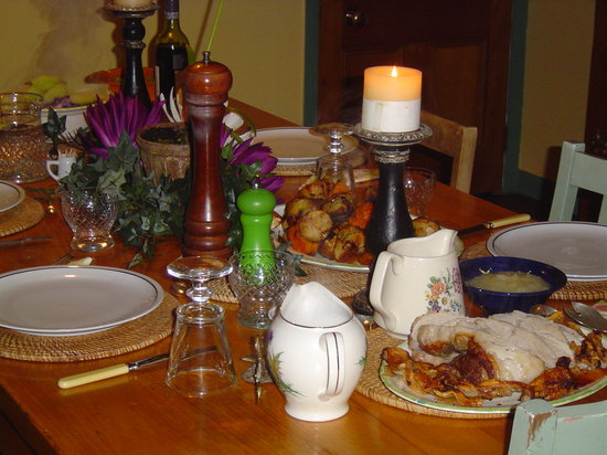 The Old Post Office Guest House: Dinner at Saddlery cottage, next door.
