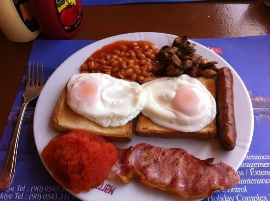 Sandys British Pub & Cafe: English breakfast