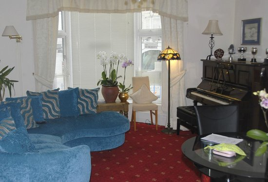 Marlborough House Hotel : Relaxaction area