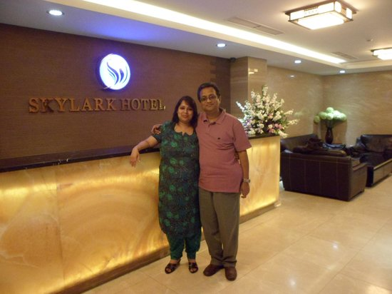 Skylark Hotel: Reception of Hotel Skylark, Hanoi