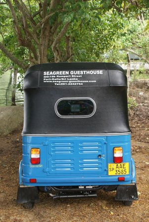 Seagreen Guesthouse: One way to get around in the area