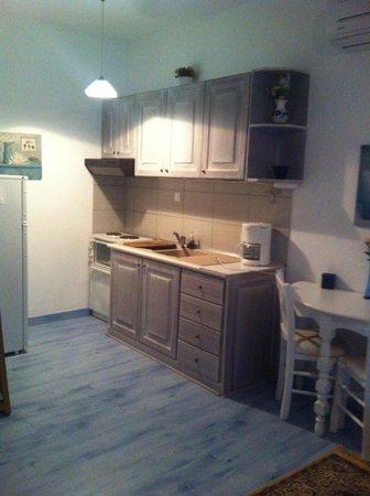 Aloe Luxury Apartments & Suites: Kitchen
