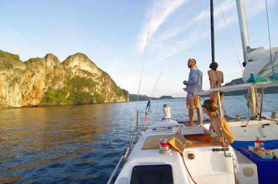 Andaman Sea Club Sailing Charters : boat