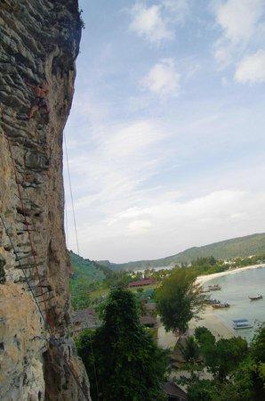 Andaman Sea Club Sailing Charters : climbing