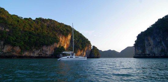 Andaman Sea Club Sailing Charters: boat