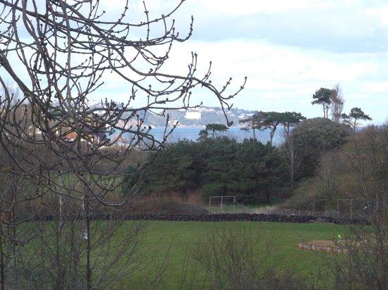Hoburne Devon Bay: view from van